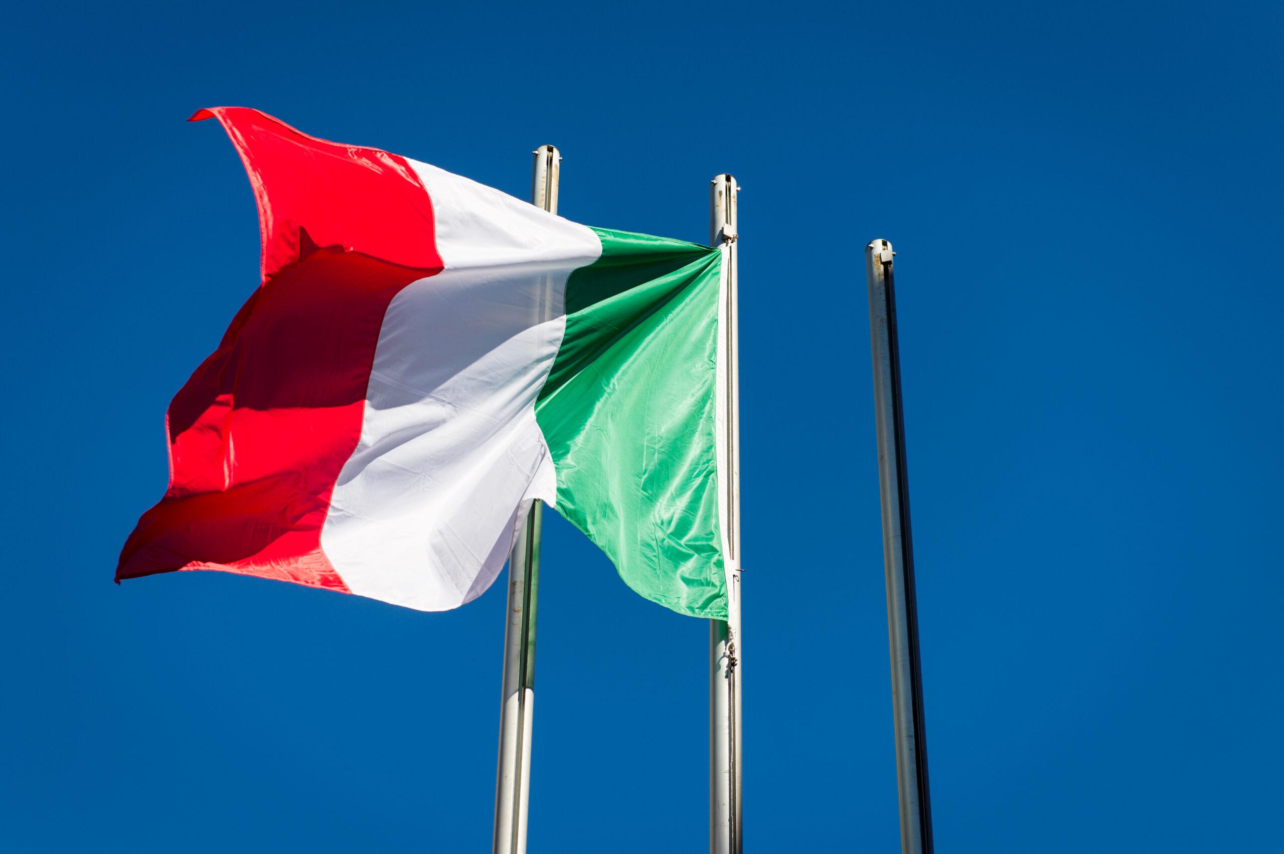 Municipio - bandiera Italia