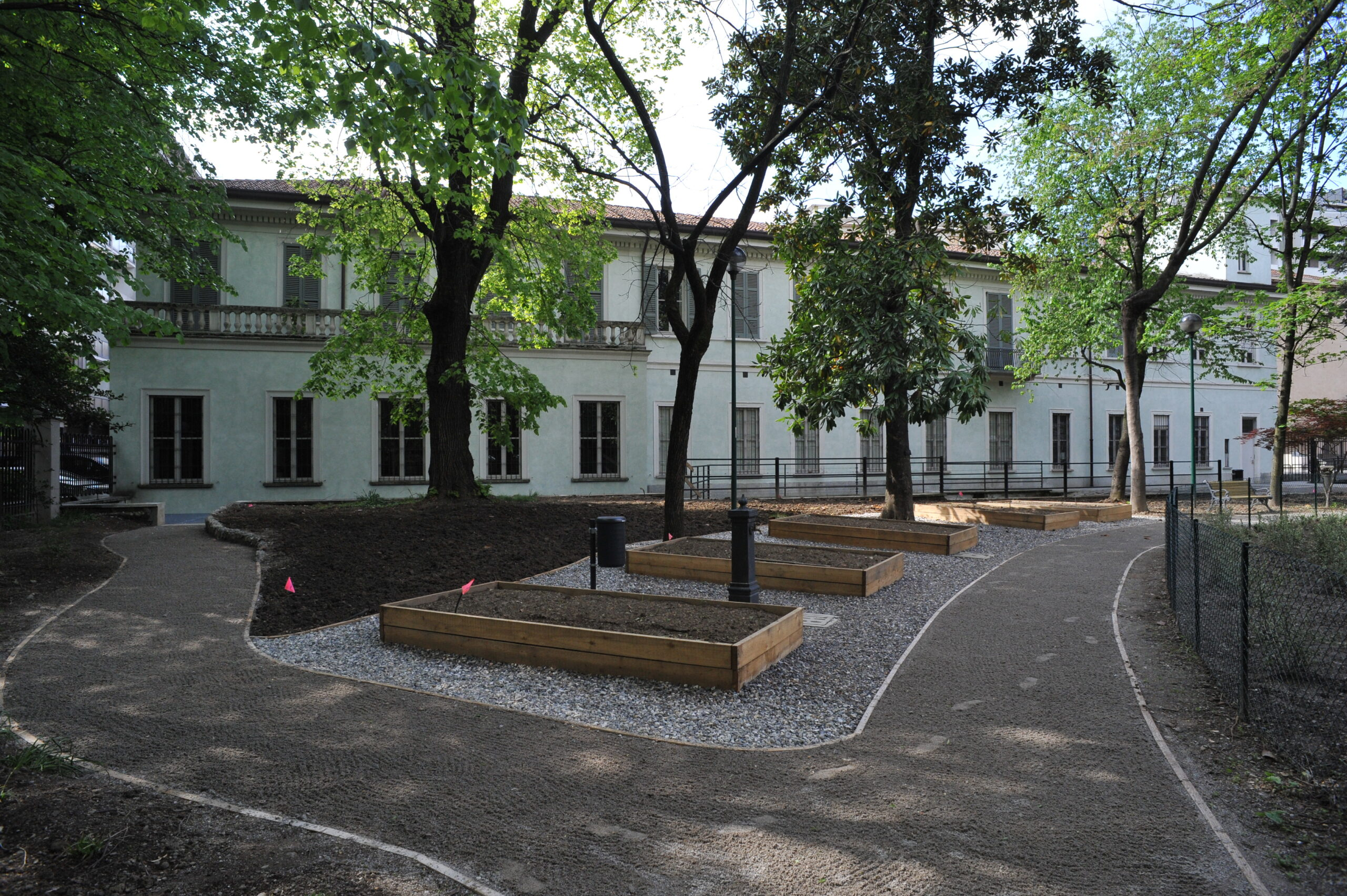 Giardino botanico di villa Mylius