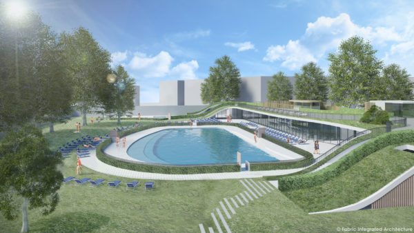 La ristrutturazione della piscina scoperta Carmen Longo