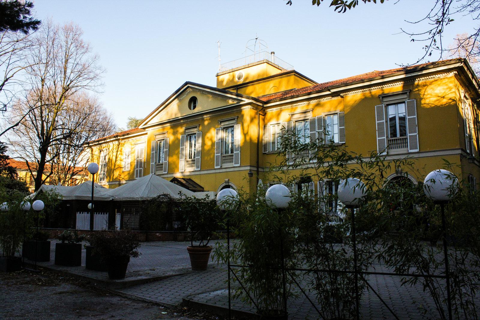 Giardino di villa Zorn