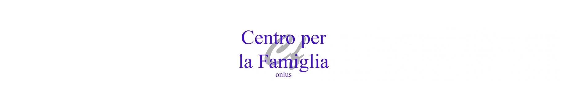 Associazione Centro per la Famiglia ONLUS - logo