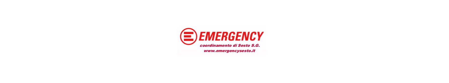 Associazione Emergency ONG ONLUS Coordinamento Sesto - logo