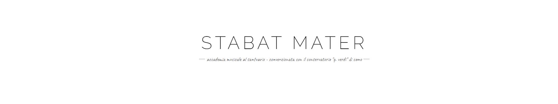Associazione STABAT MATER - Accademia musicale al Santuario - logo