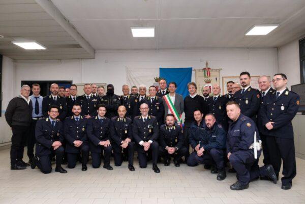 Polizia Locale, consegnati Elogi e Medaglie di Anzianità