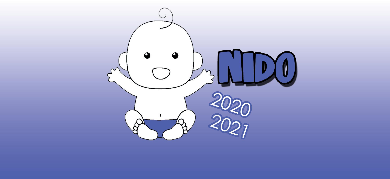 bambino piccolo con la scritta NIDI 2021