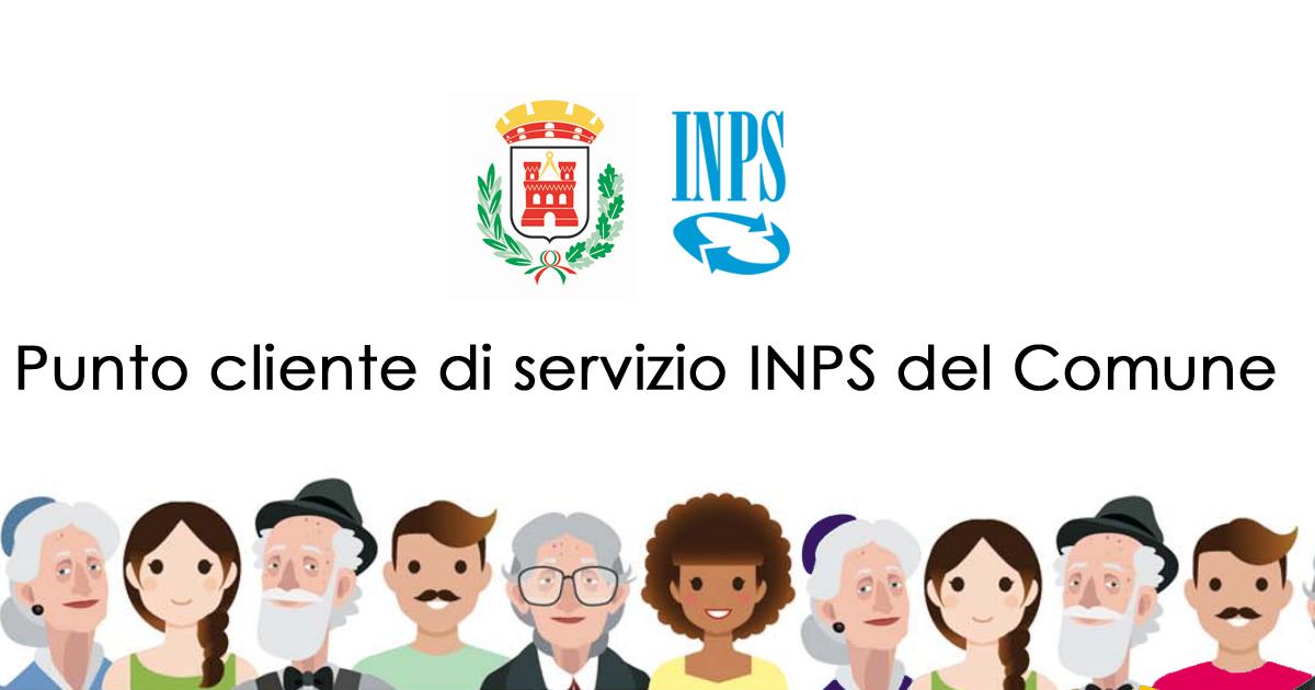 Punto cliente di servizio INPS del Comune
