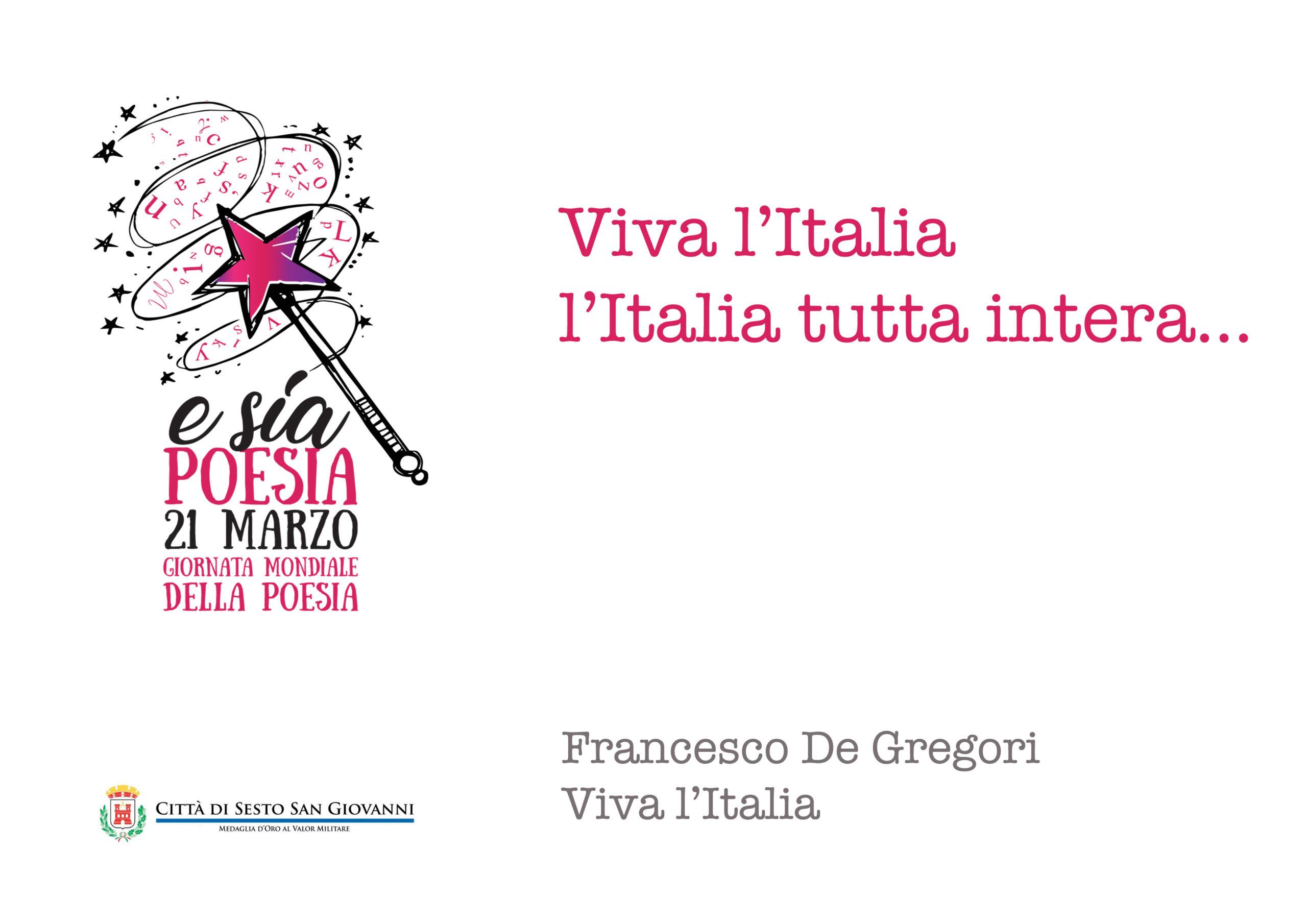 e sia poesia -10 viva l italia