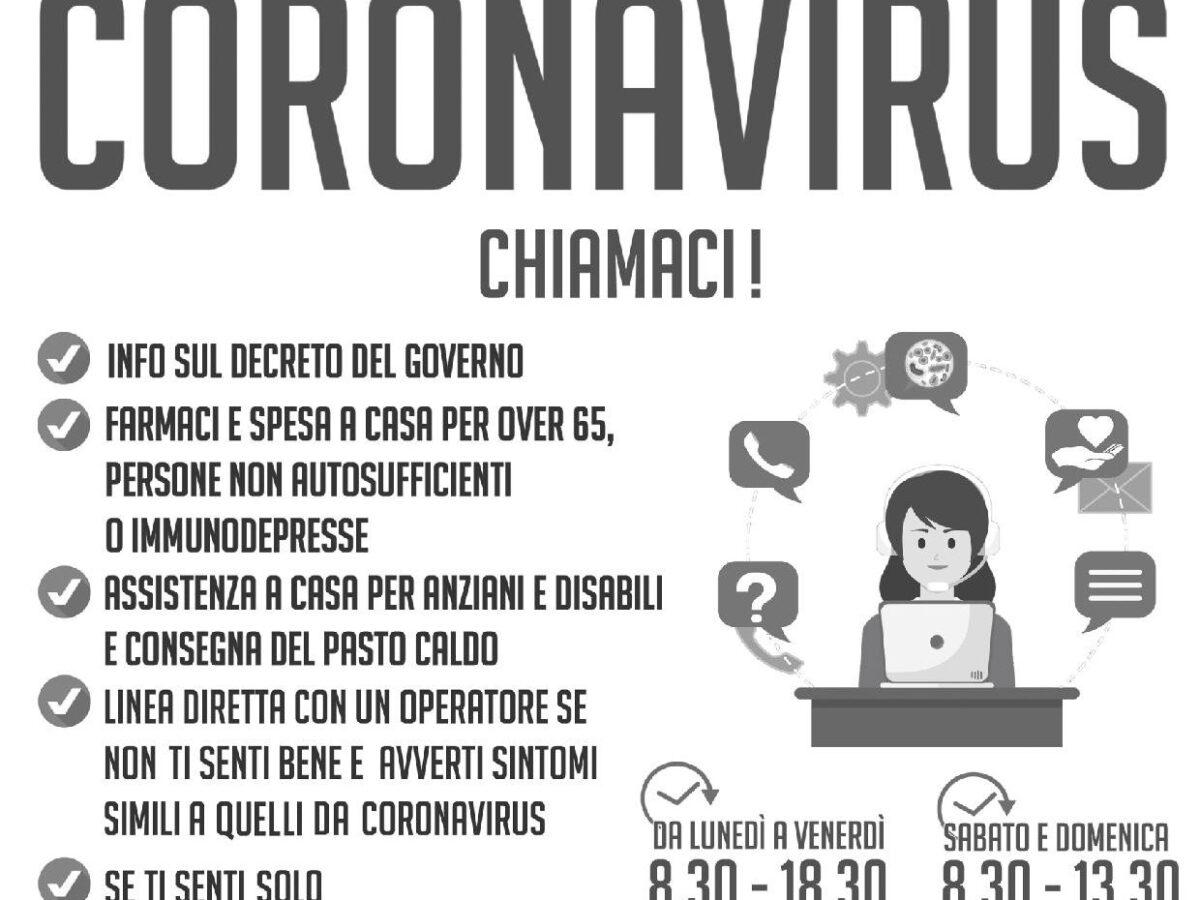 Condividi il numero Emergenza Coronavirus