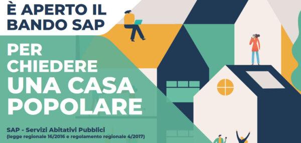 Sospeso il Bando Sap 2020 (servizi abitativi ex case popolari)