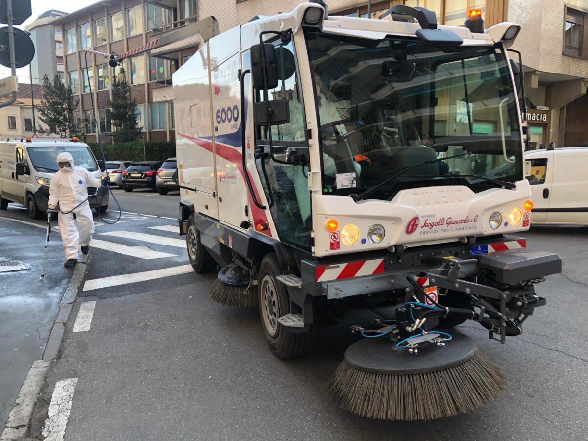 Sanificazione della Città