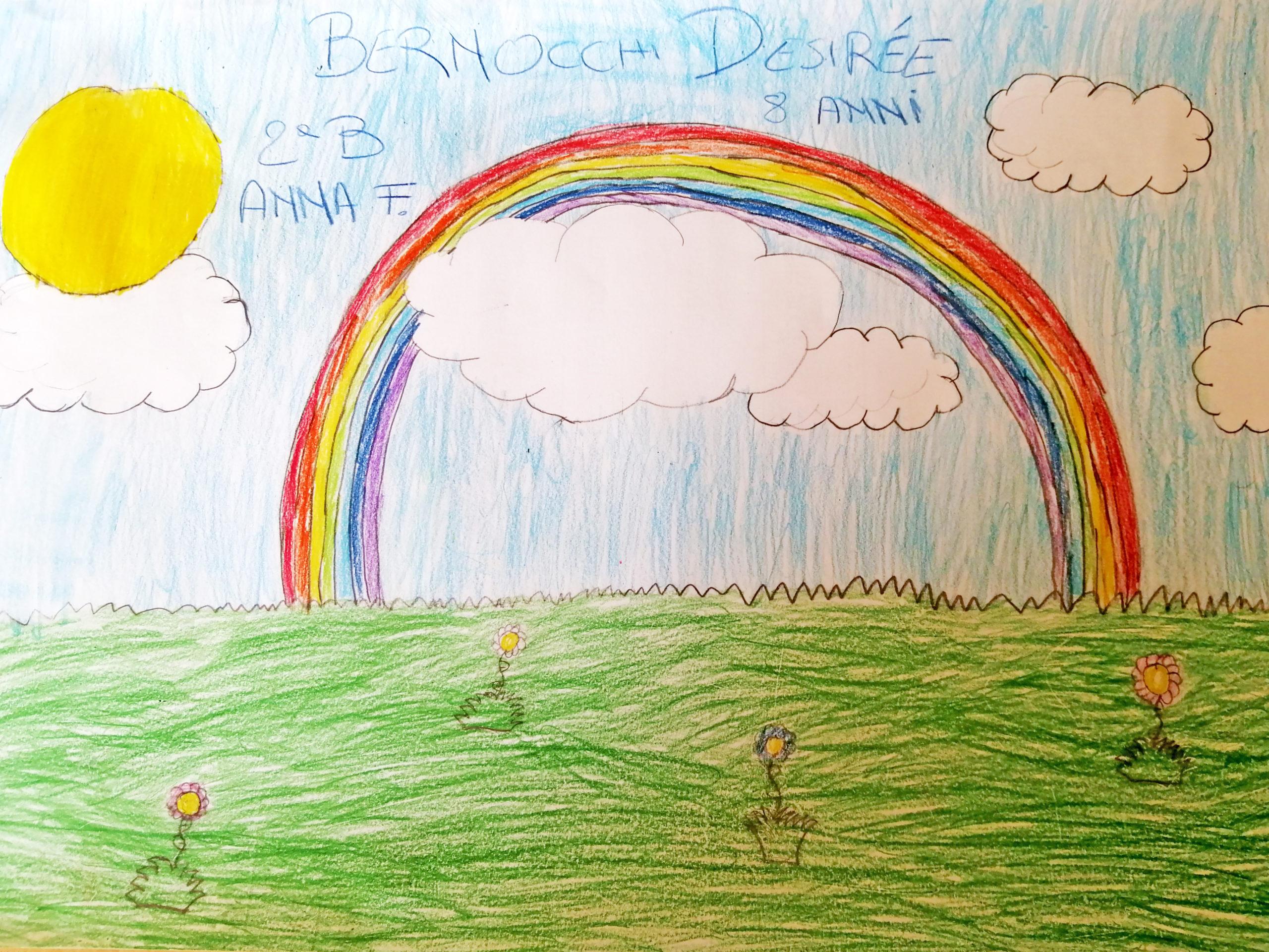 Questo disegno lo ha fatto Desirée (8 anni)