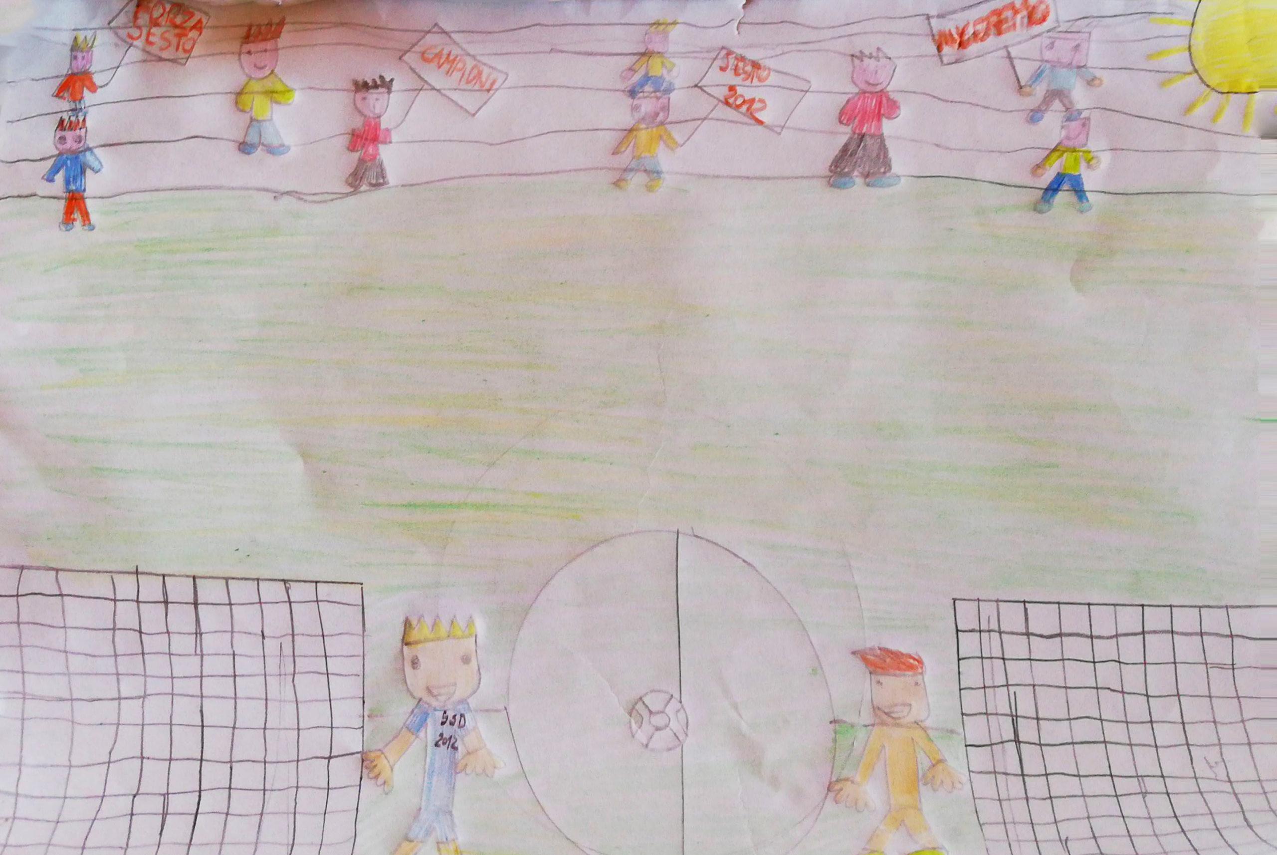 Questo disegno lo ha fatto Orofino (7 anni)