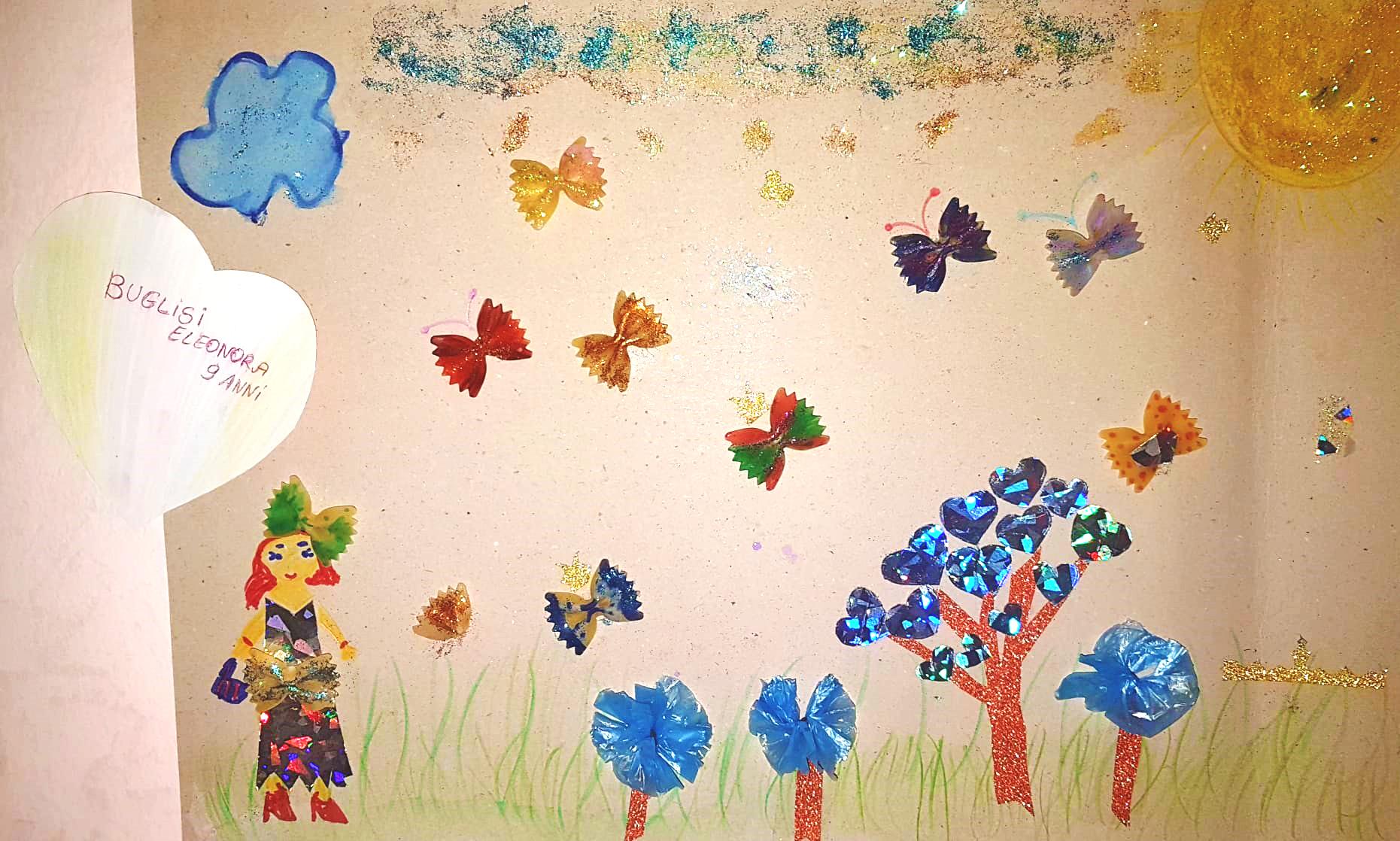 Questo disegno lo ha fatto Eleonora (9 anni)