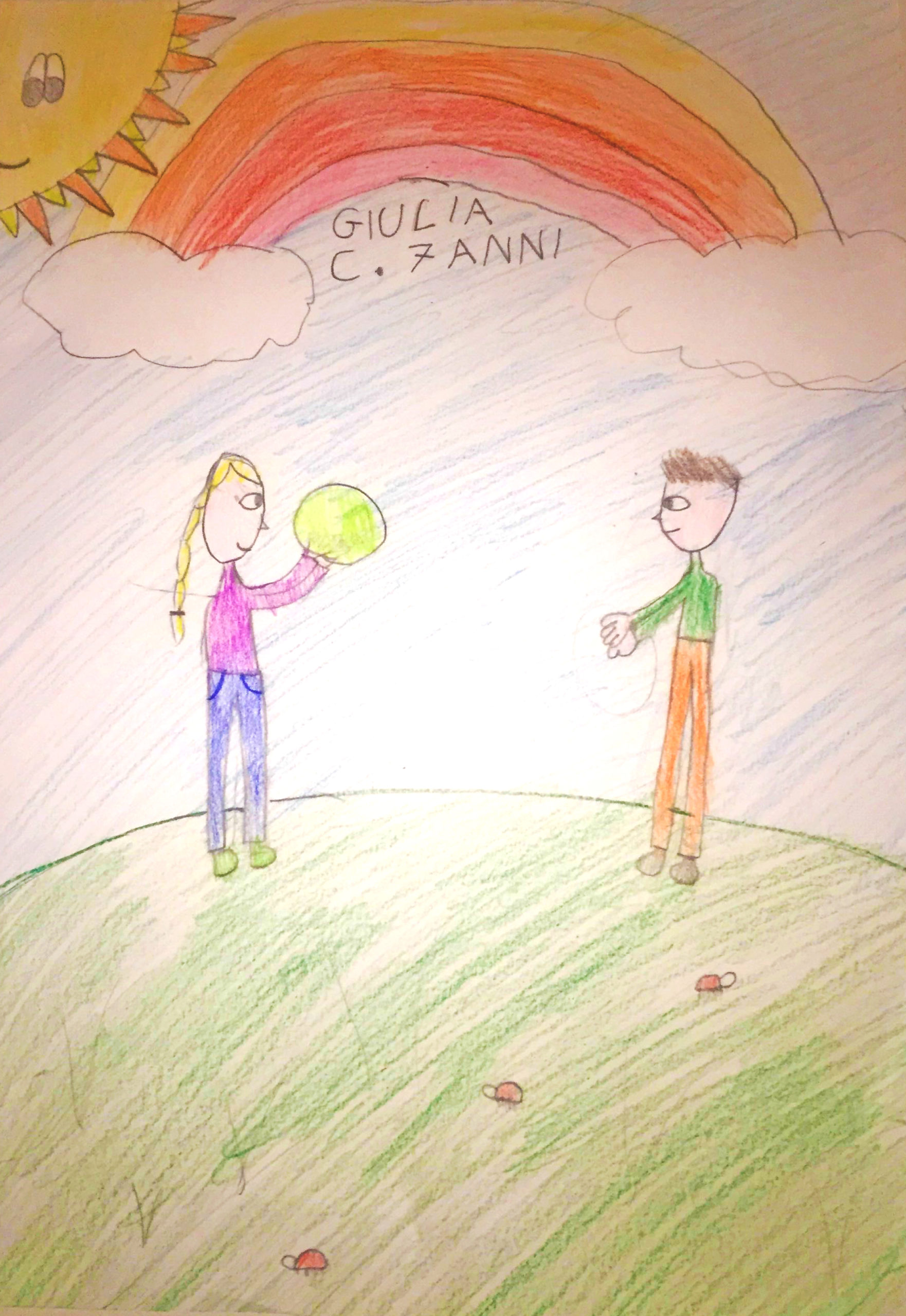 Questo disegno lo ha fatto Giulia (6 anni)