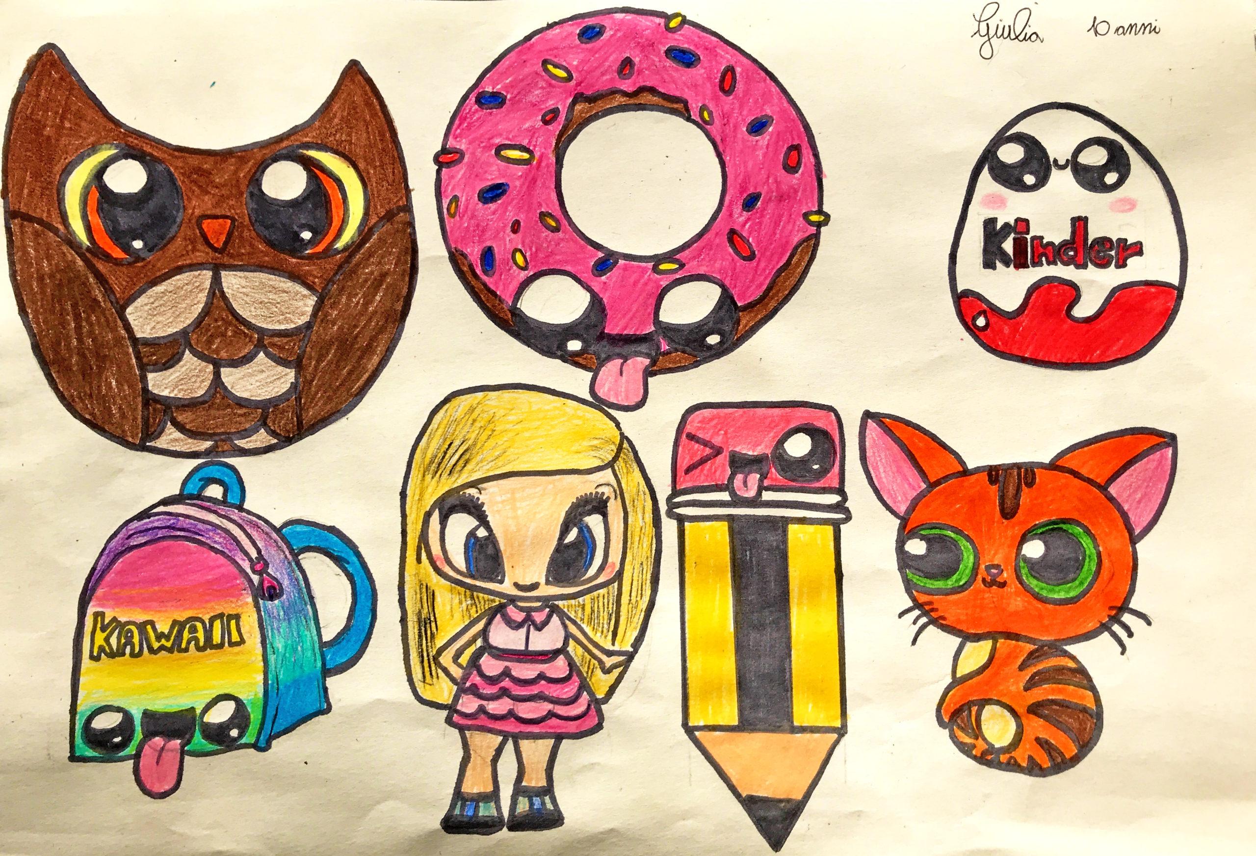Questo disegno lo ha fatto Giulia (10 anni)
