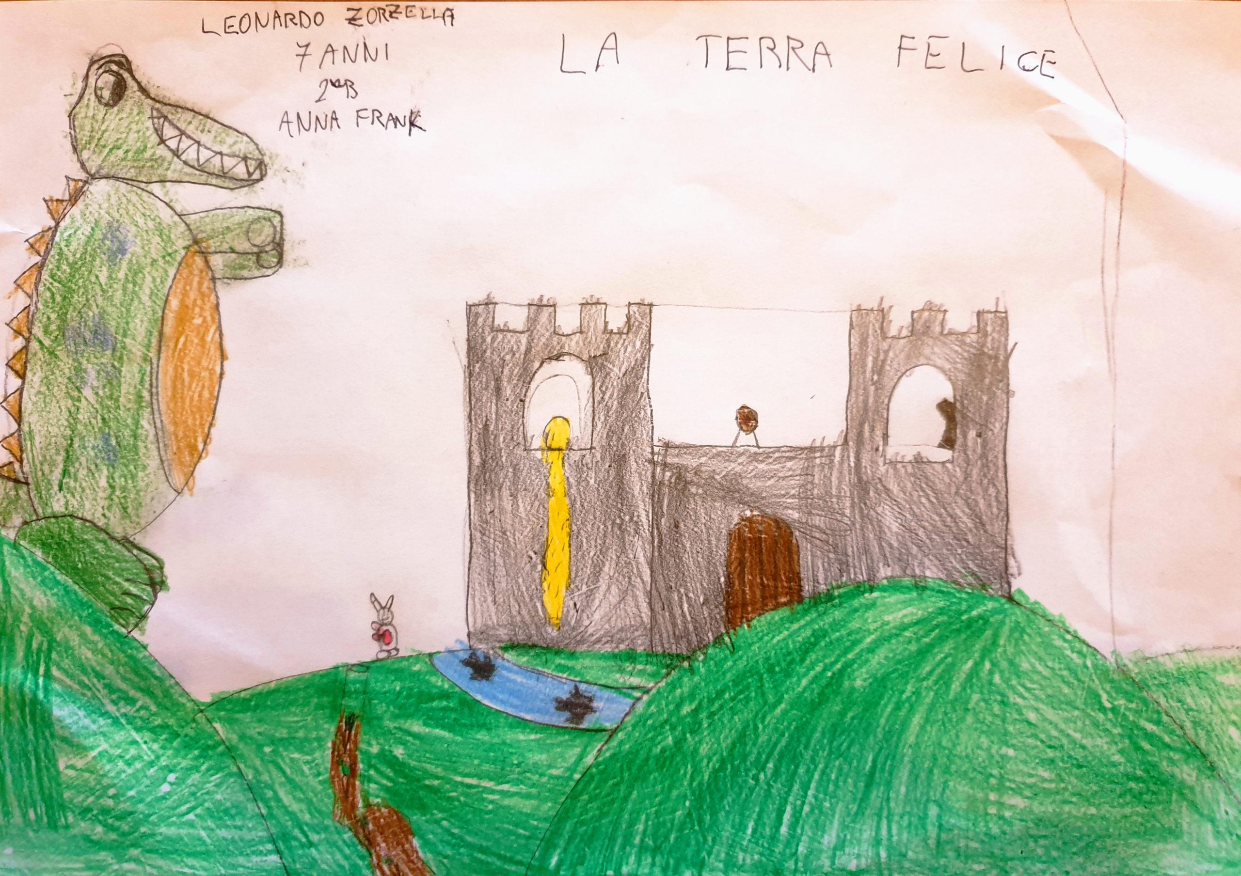 Questo disegno lo ha fatto Leonardo (7 anni)