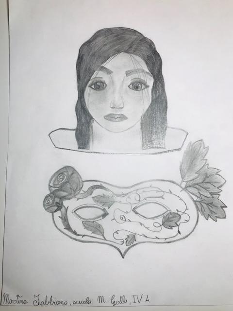 Questo disegno lo ha fatto Martina (9 anni)