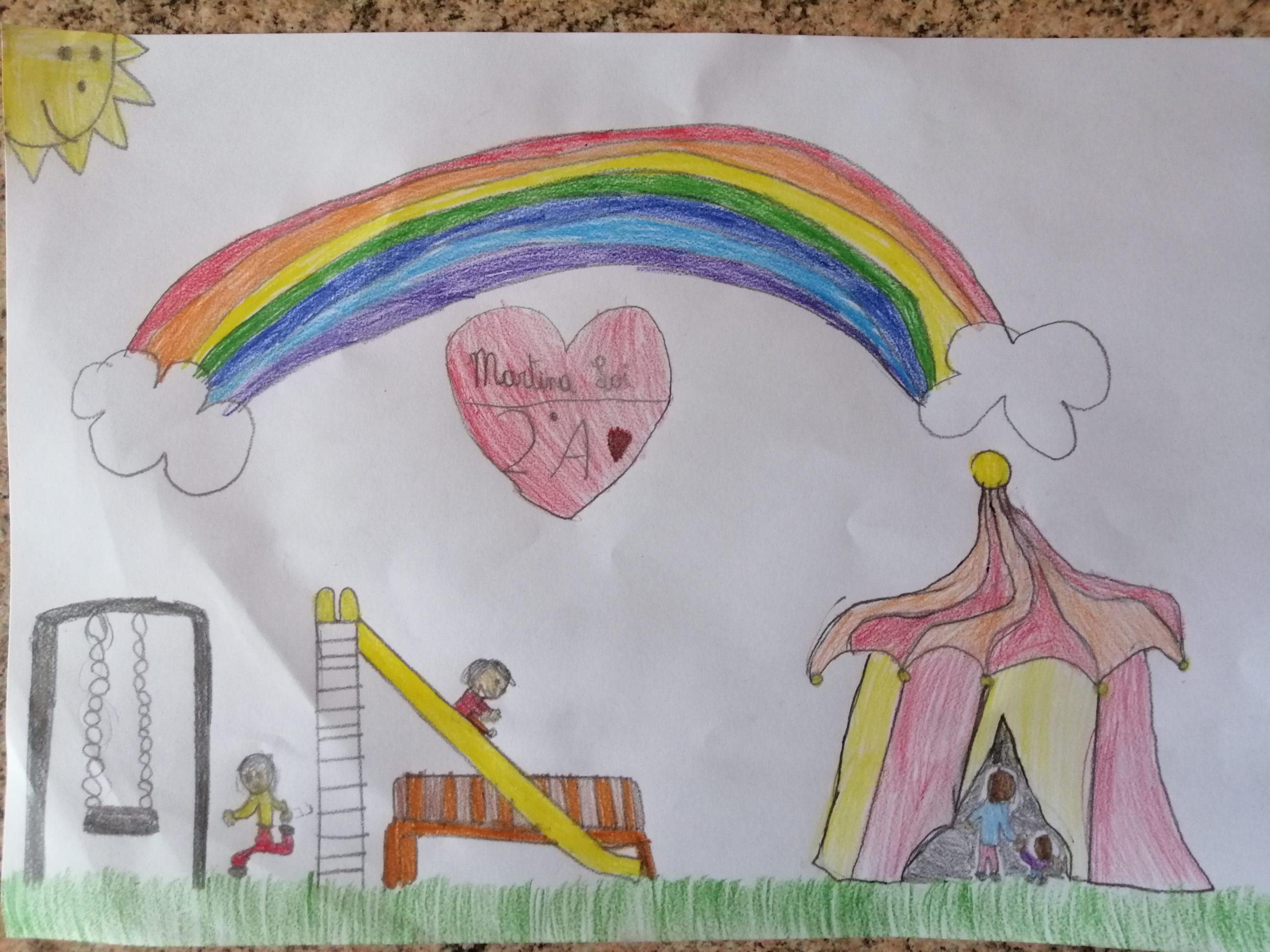 Questo disegno lo ha fatto Martina (7 anni)