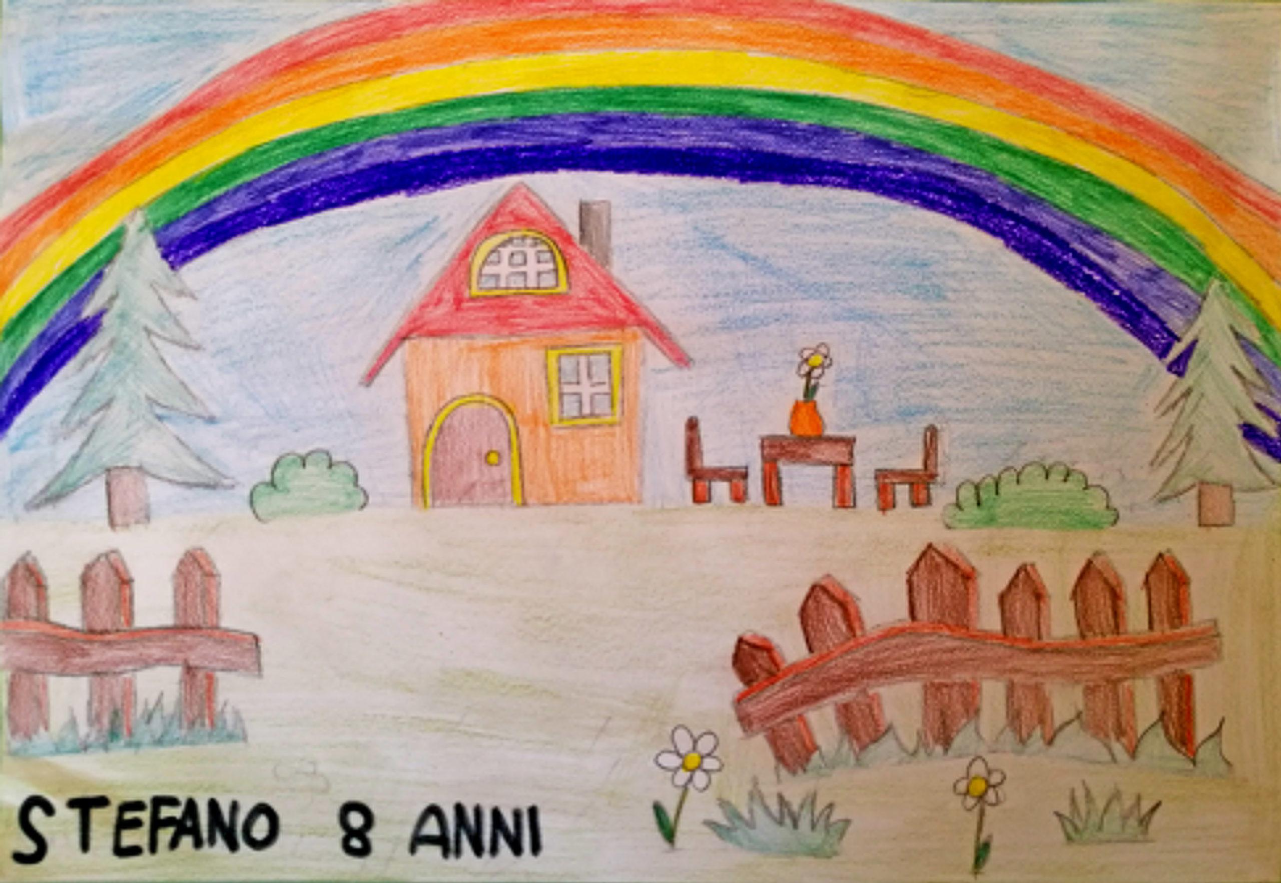 Questo disegno lo ha fatto Stefano (8 anni)