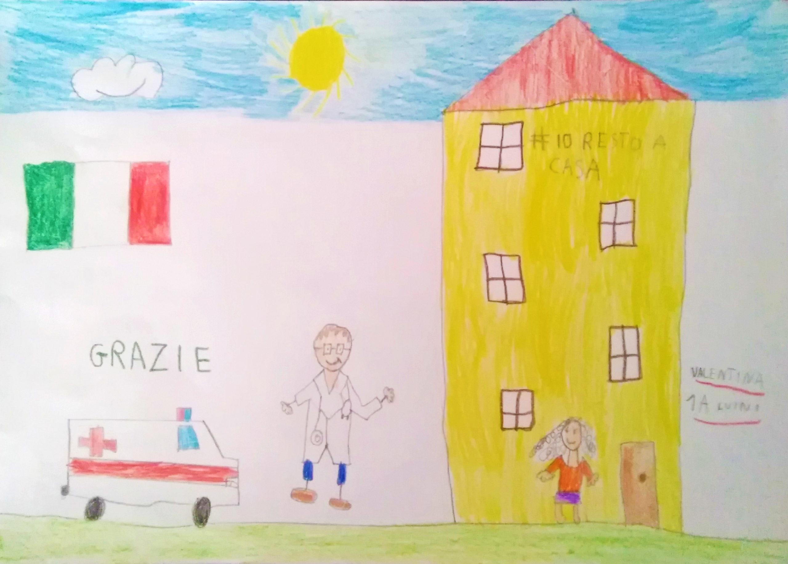 Questo disegno lo ha fatto Valentina (6 anni)