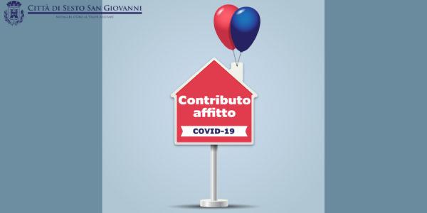 Contributo affitto emergenza COVID-19