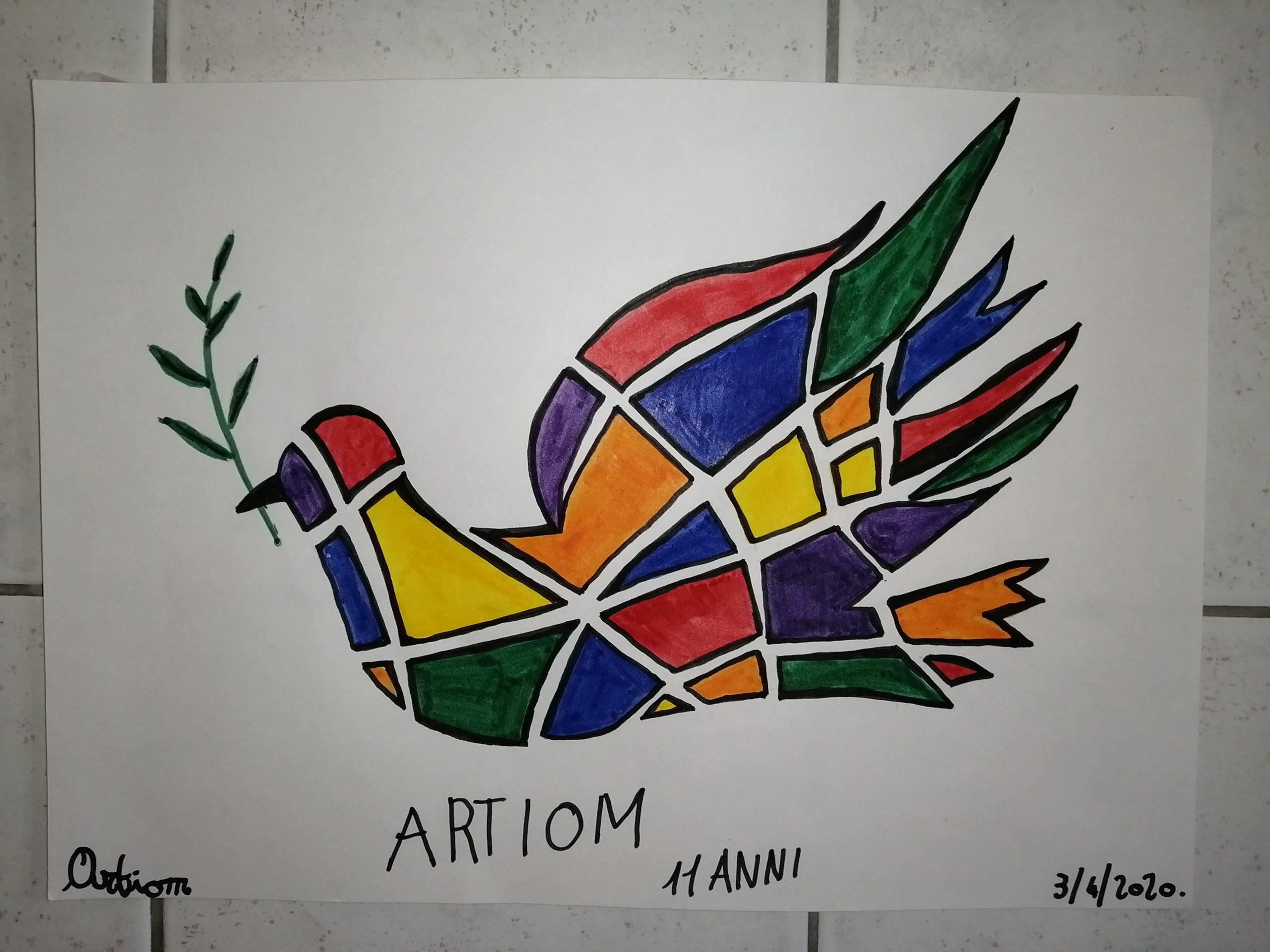 Questo disegno lo ha fatto Artiom (11 anni)