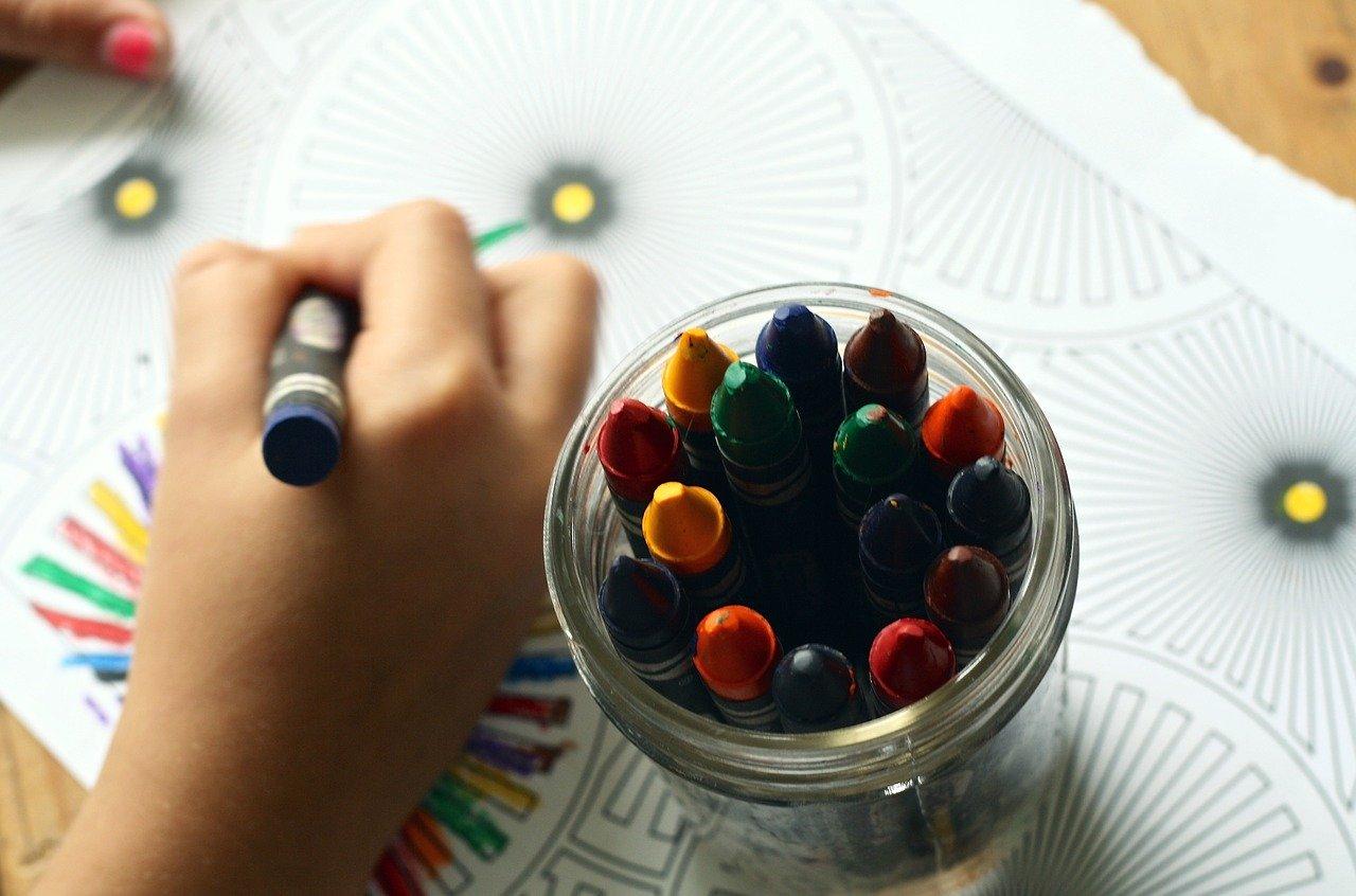 disegno bambini pastelli
