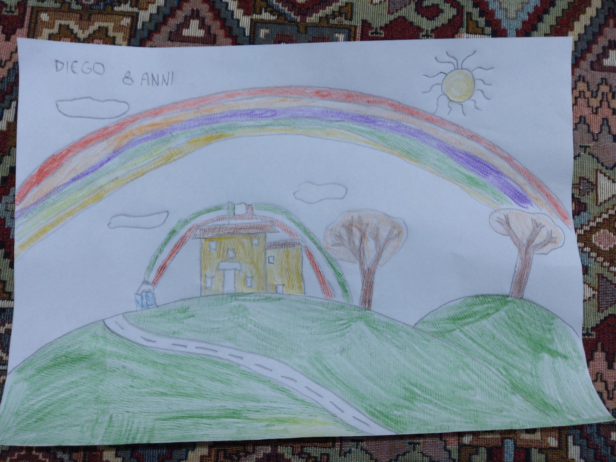 Questo disegno lo ha fatto Diego (8 anni)