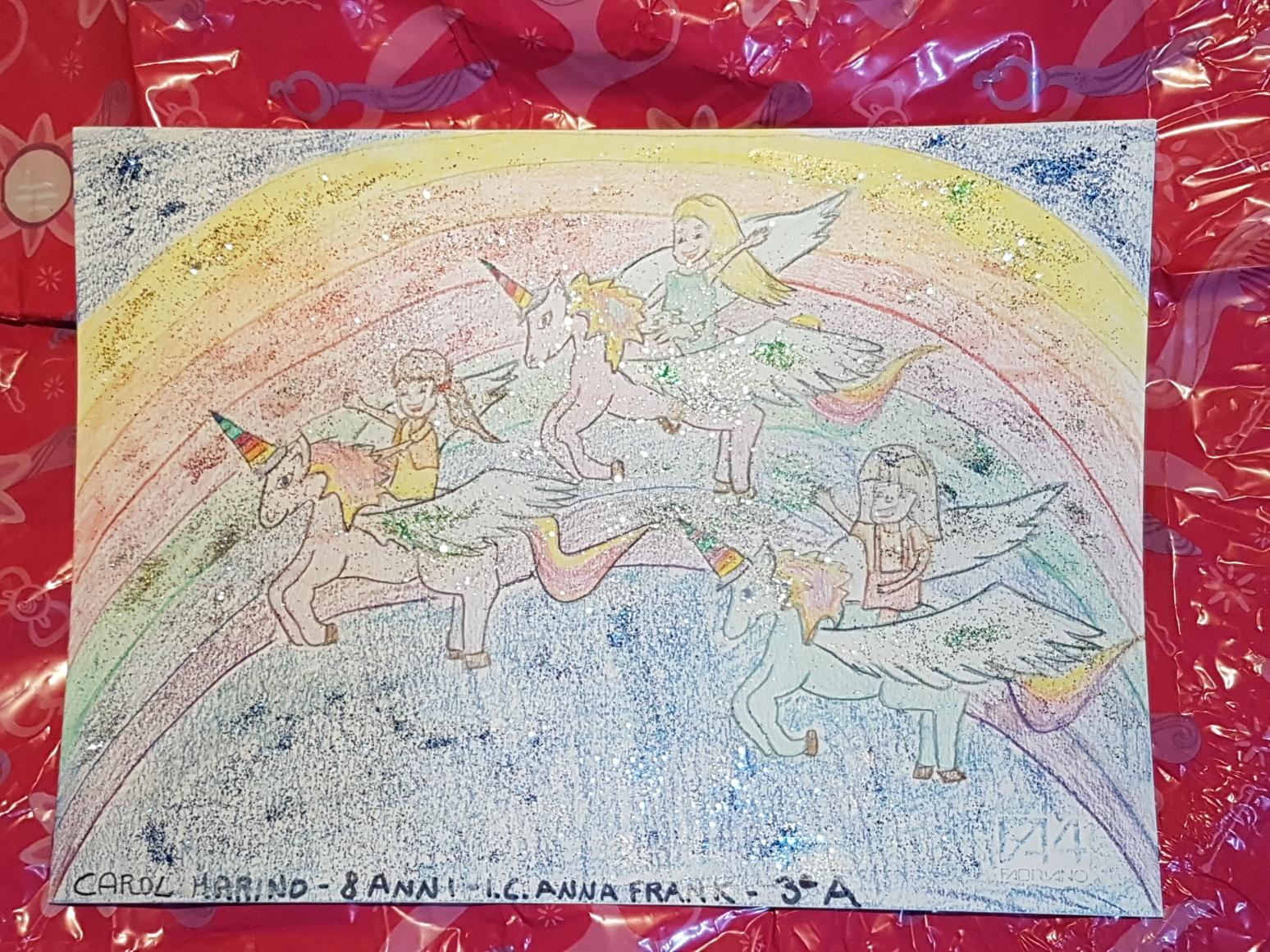 Questo disegno lo ha fatto Carol (8 anni)