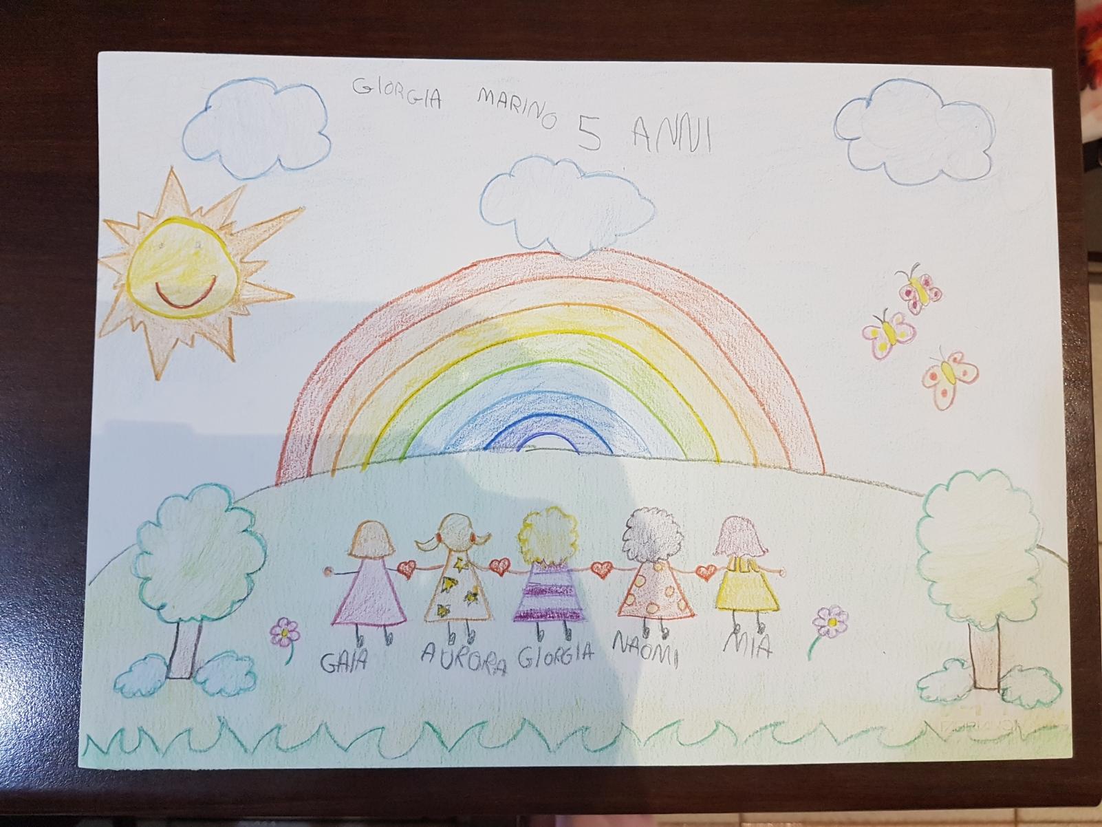 Questo disegno lo ha fatto Giorgia (5 anni)