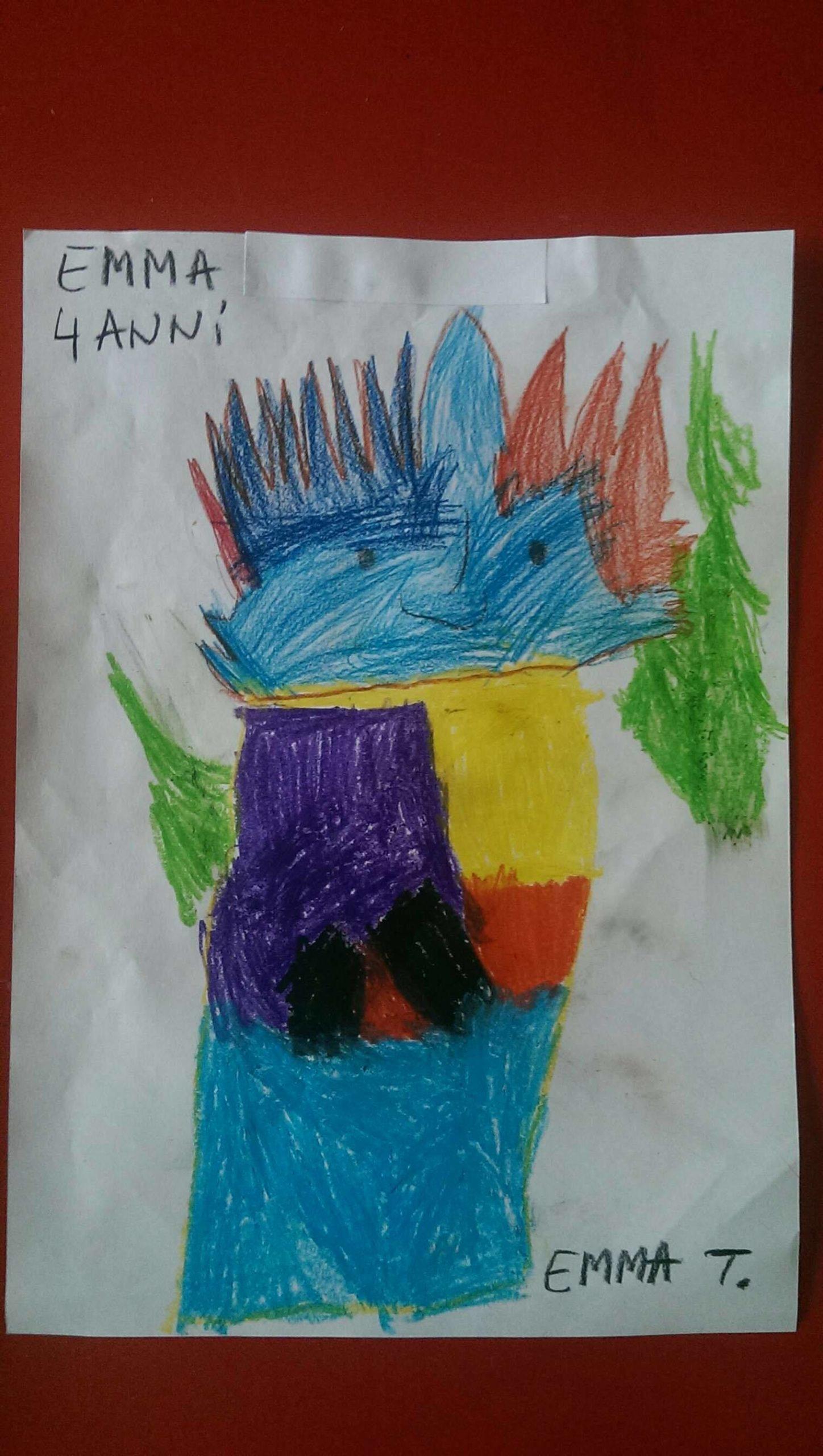 Questo disegno lo ha fatto Emma (4 anni)