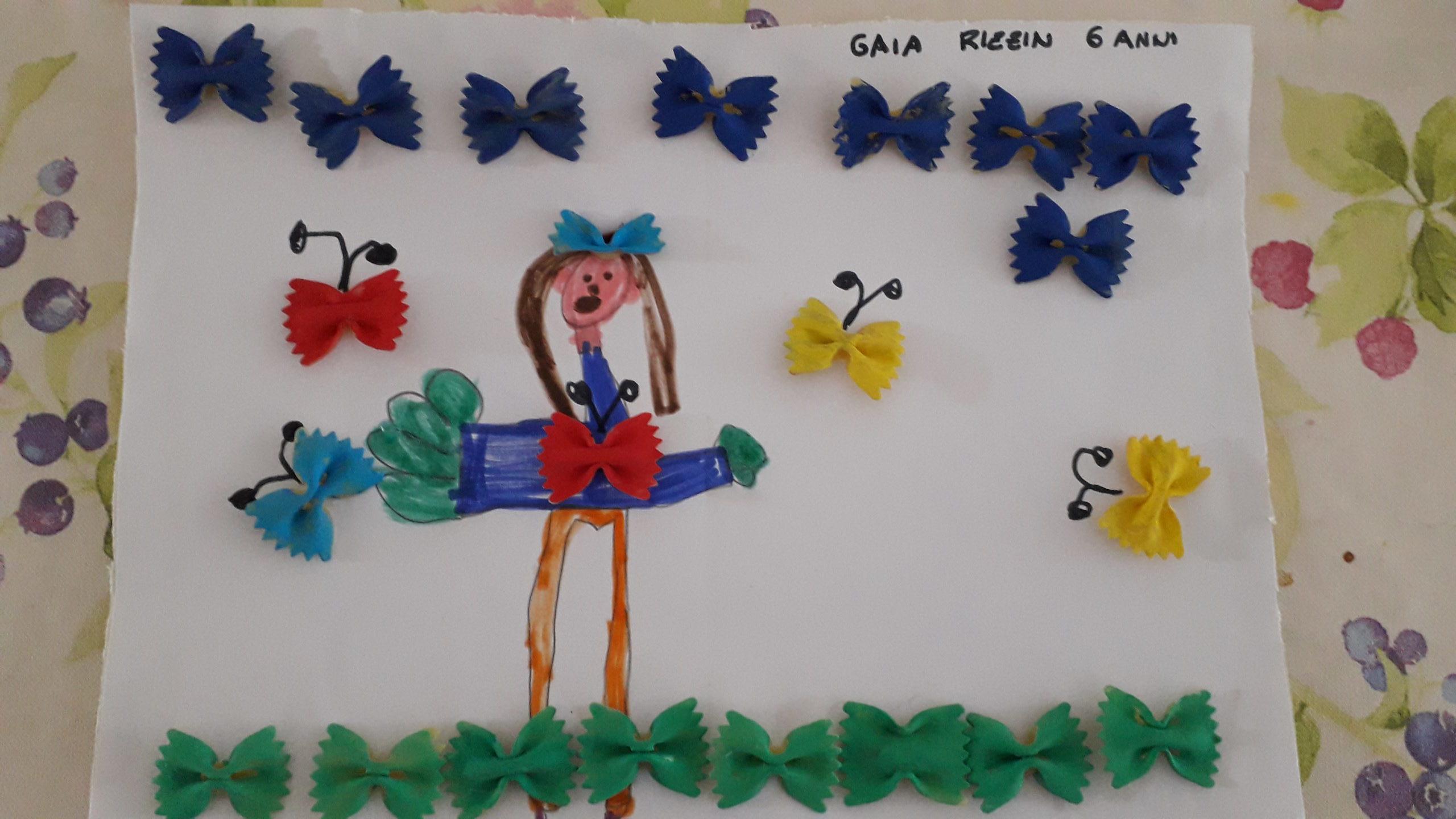 Questo disegno lo ha fatto Gaia (6 anni)