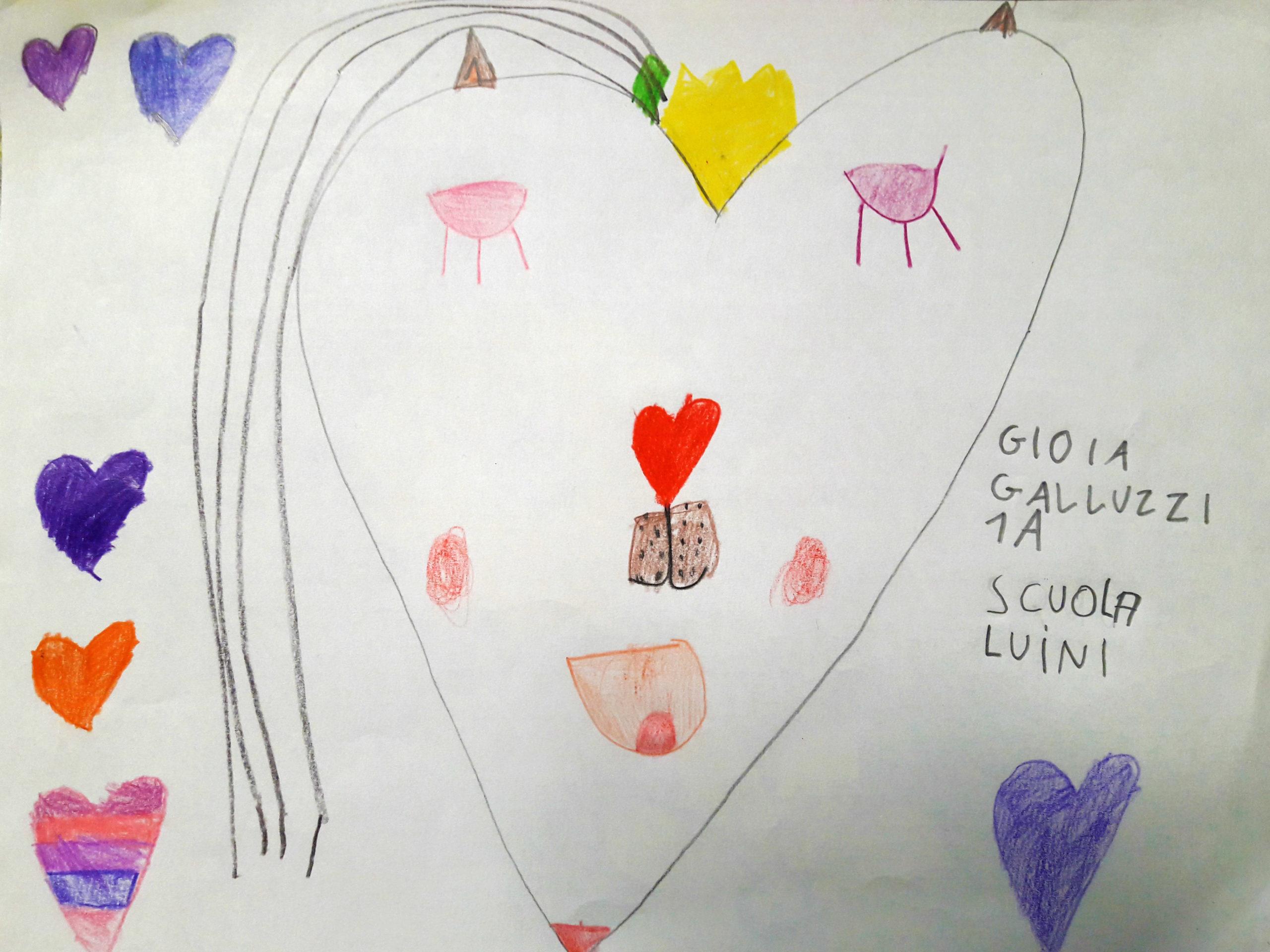 Questo disegno lo ha fatto Gioia (6 anni)