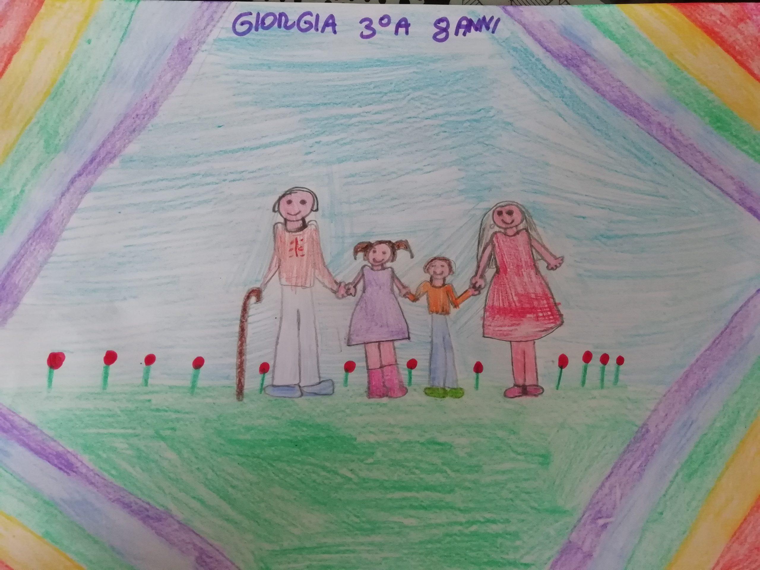Questo disegno lo ha fatto Giorgia (8 anni)