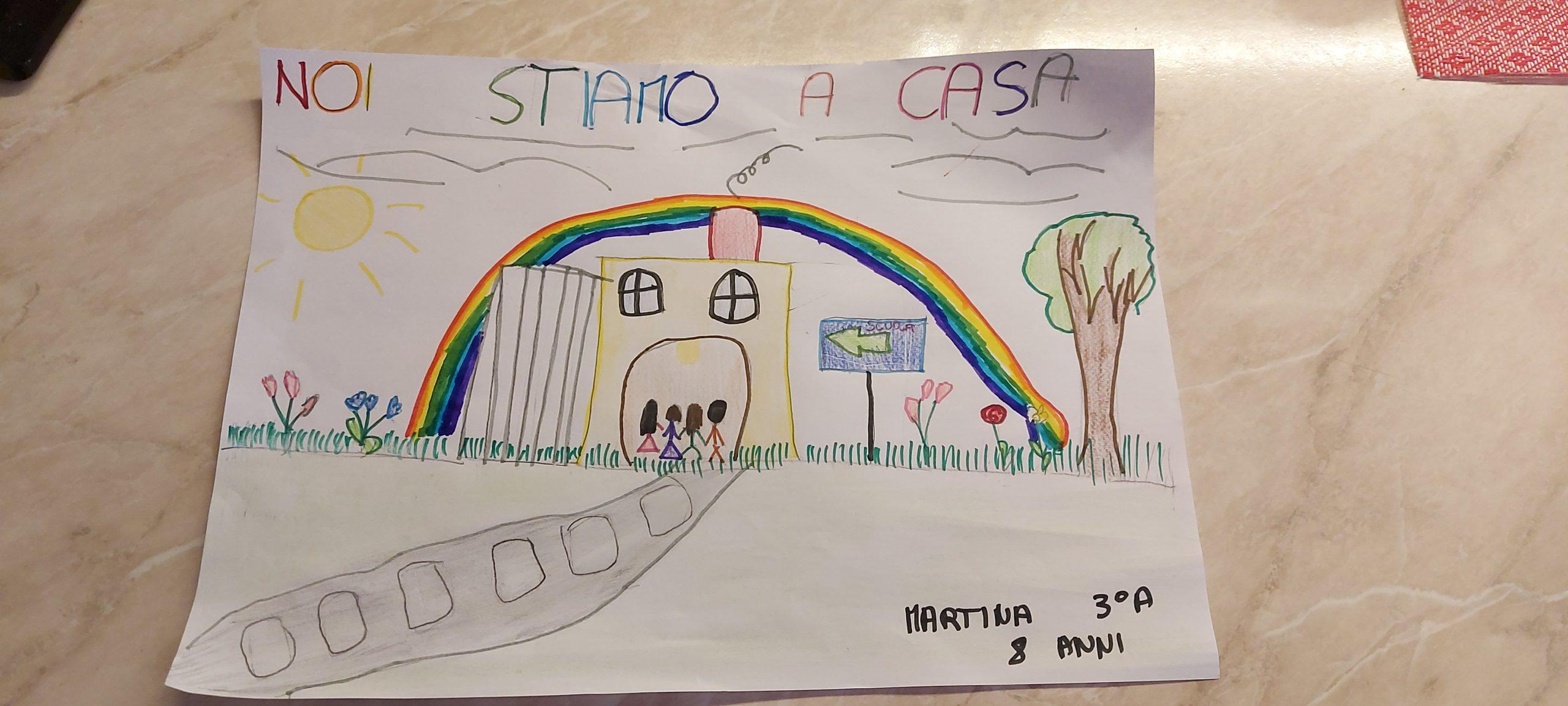 Questo disegno lo ha fatto Martina (8 anni)