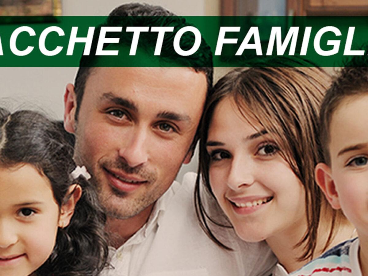Pacchetto famiglia, un sostegno per le famiglie