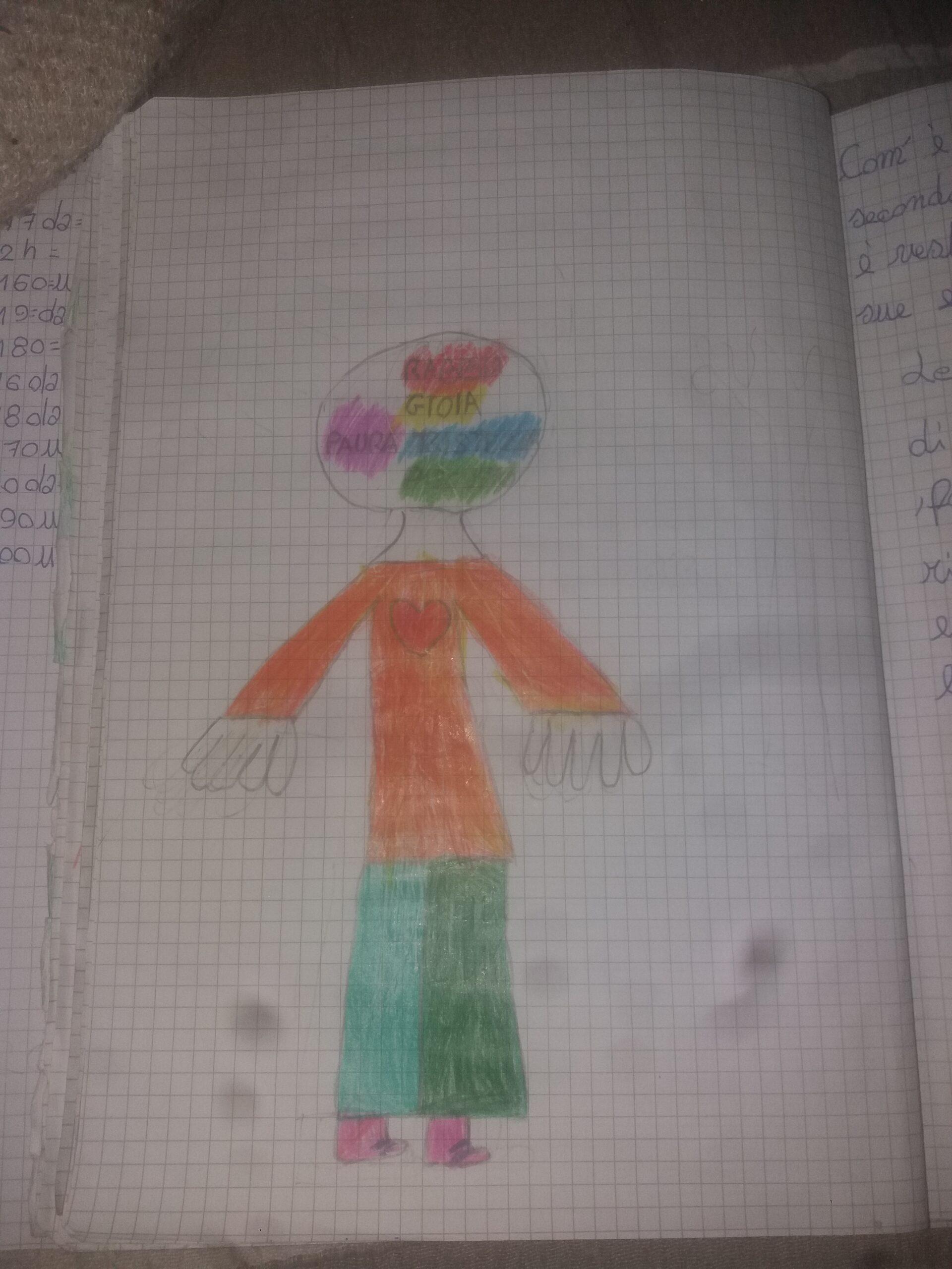 disegno bambino Rodari