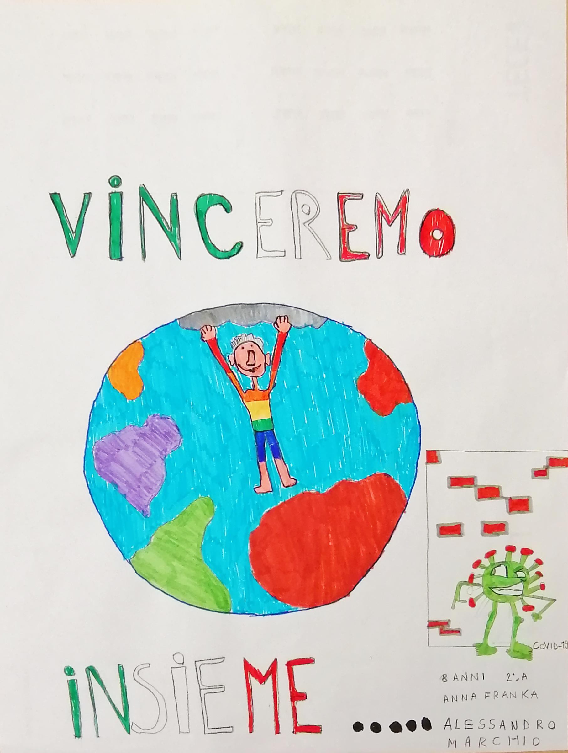 Questo disegno lo ha fatto Alessandro (7 anni)