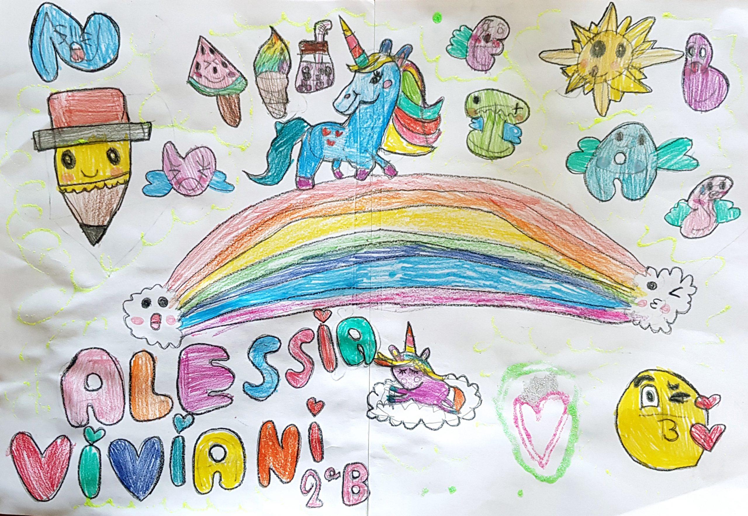 Questo disegno lo ha fatto Alessia (7 anni)
