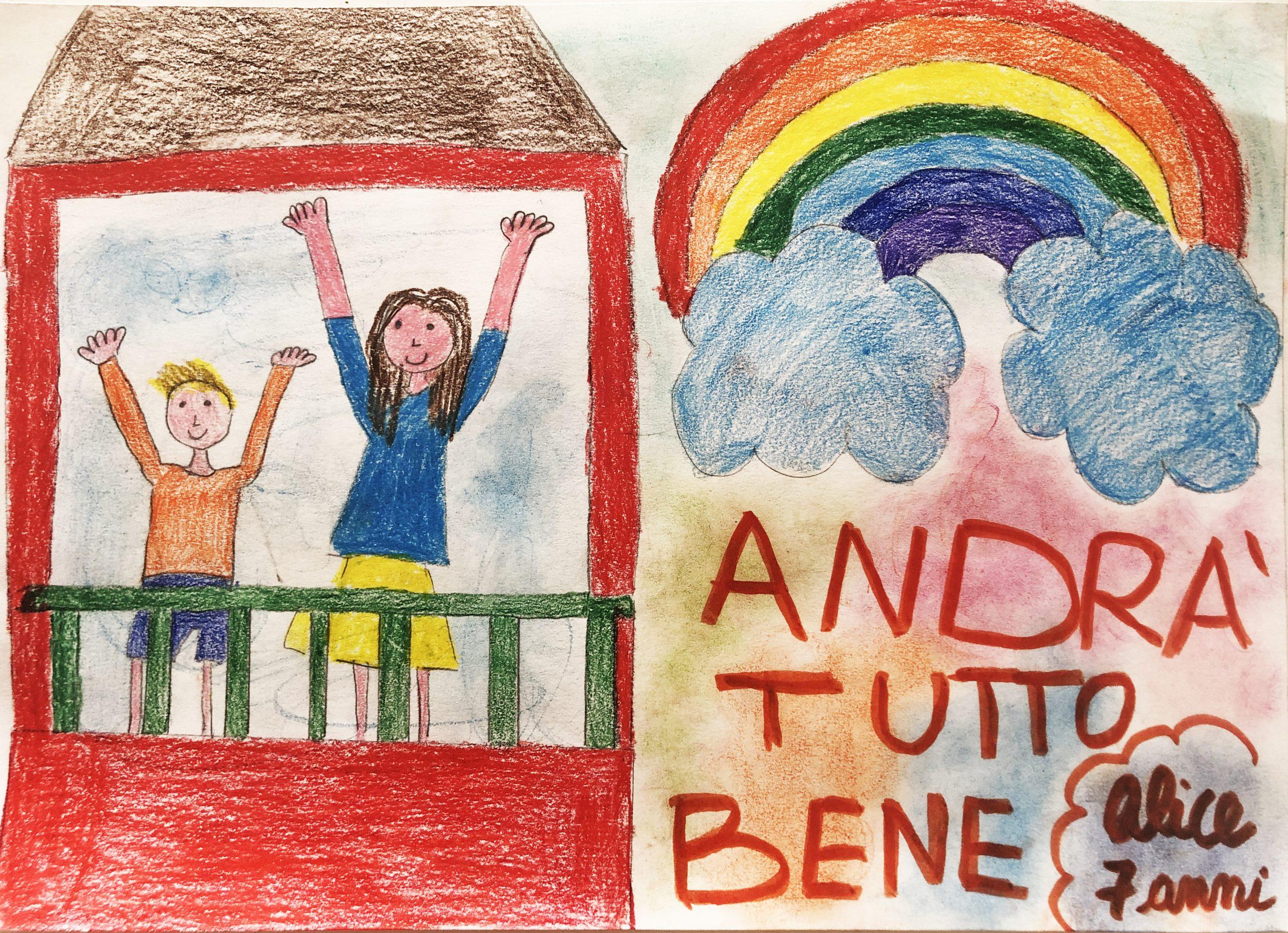 Questo disegno lo ha fatto Alice (7 anni)