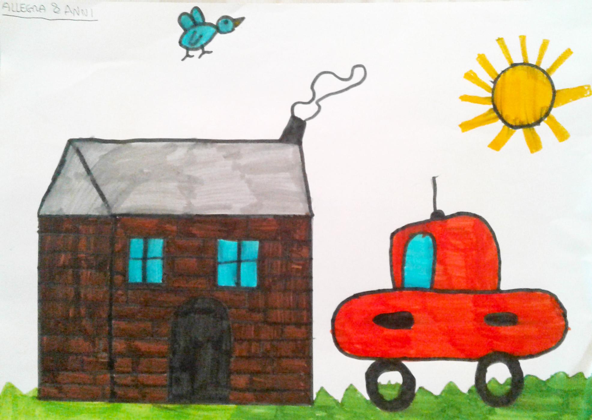 Questo disegno lo ha fatto Allegra (8 anni)