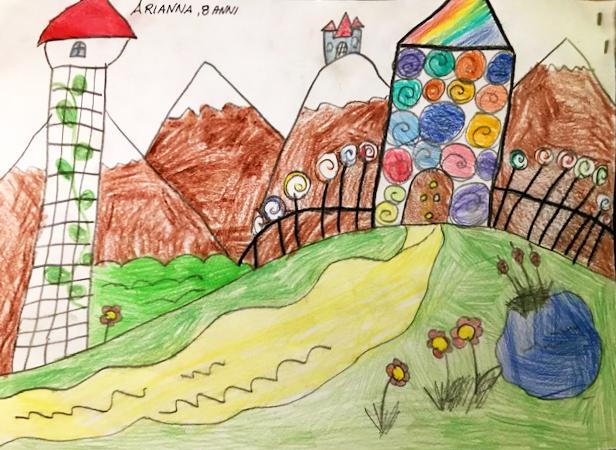 Questo disegno lo ha fatto Arianna (8 anni)