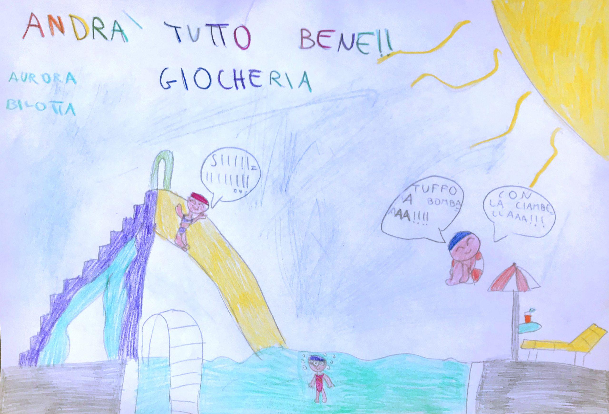 Questo disegno lo ha fatto Aurora (7 anni)