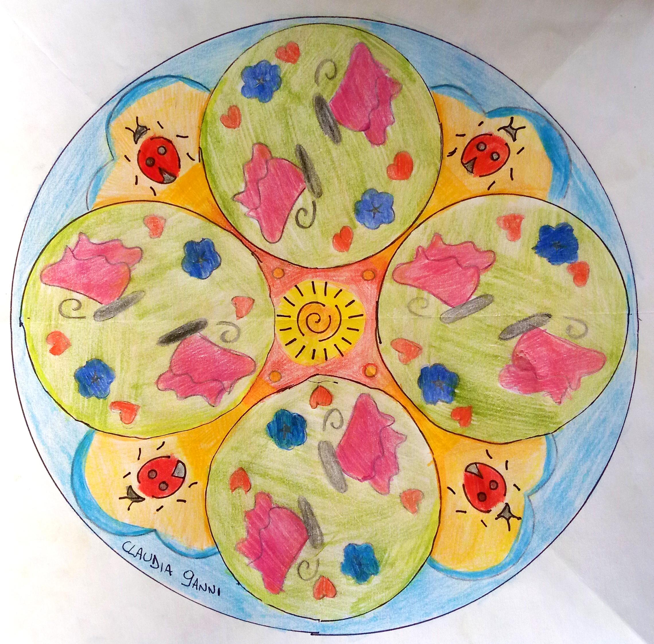 Questo disegno lo ha fatto Claudia (9 anni)