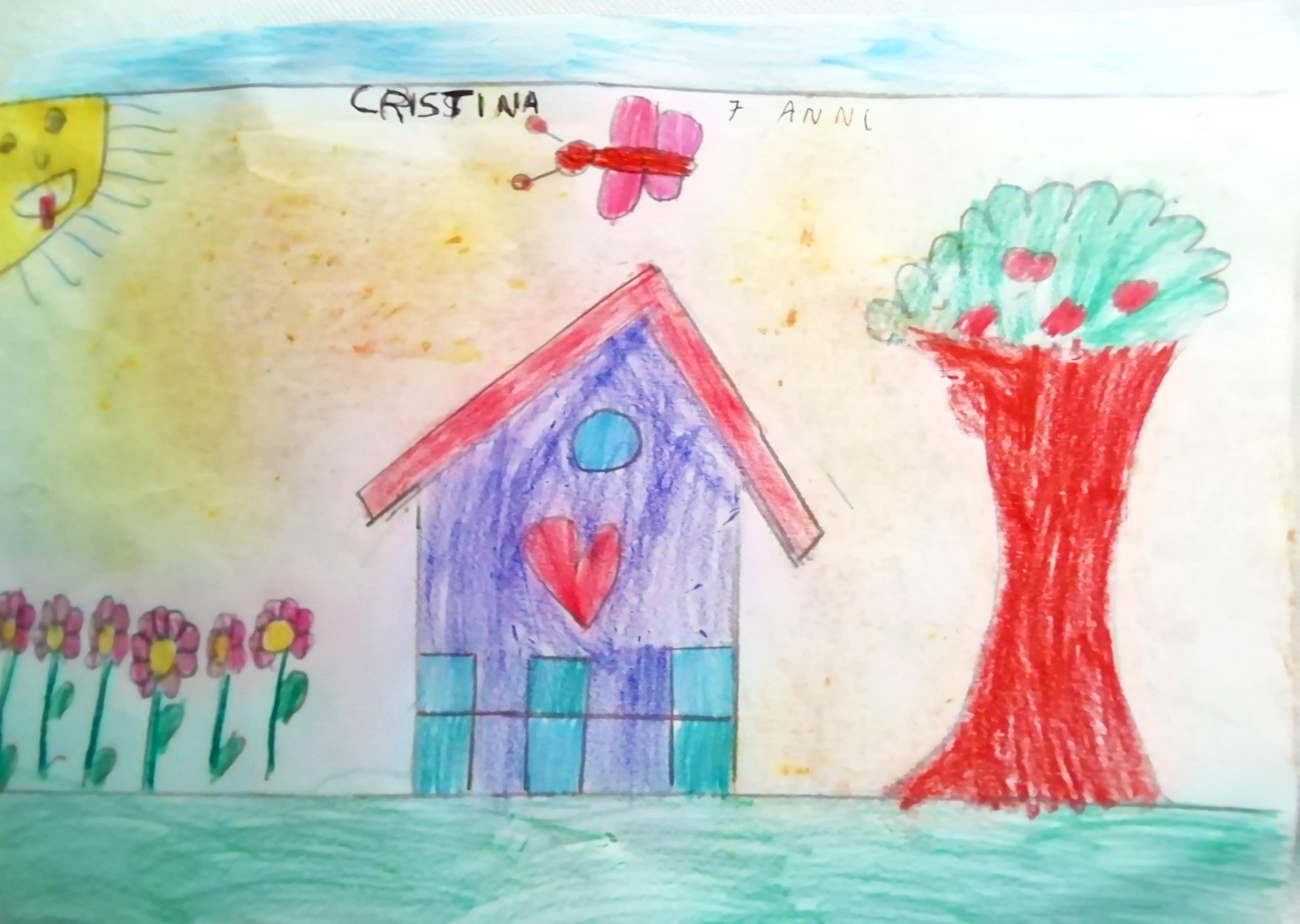 Questo disegno lo ha fatto Cristina (7 anni)