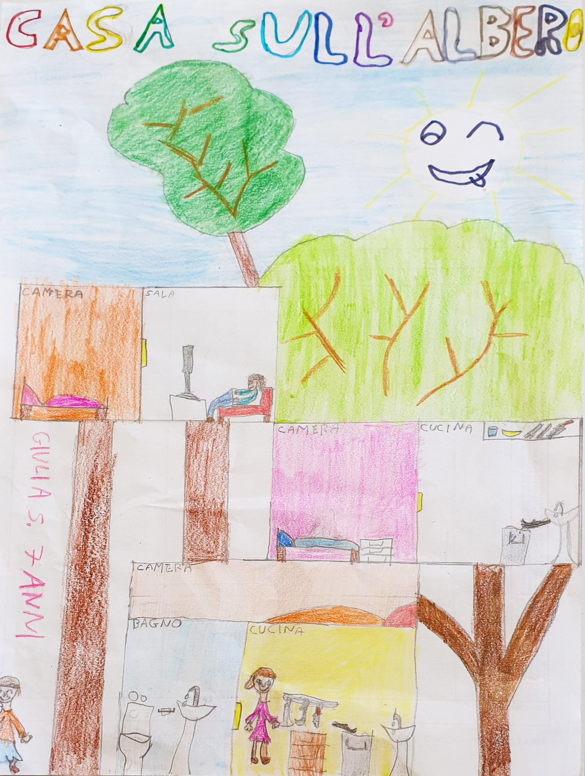 Questo disegno lo ha fatto Giulia (7 anni)