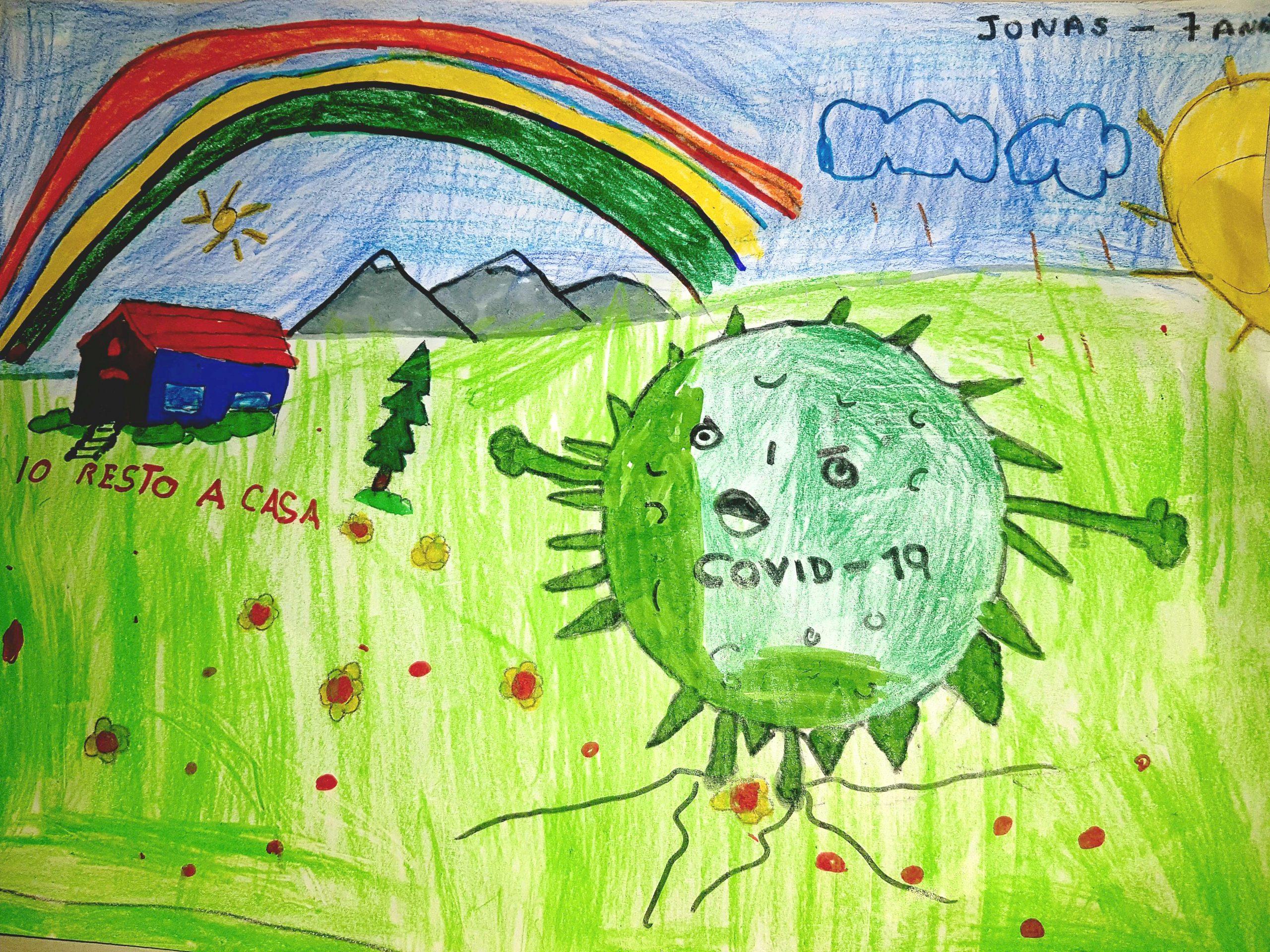 Questo disegno lo ha fatto Jonas (7 anni)