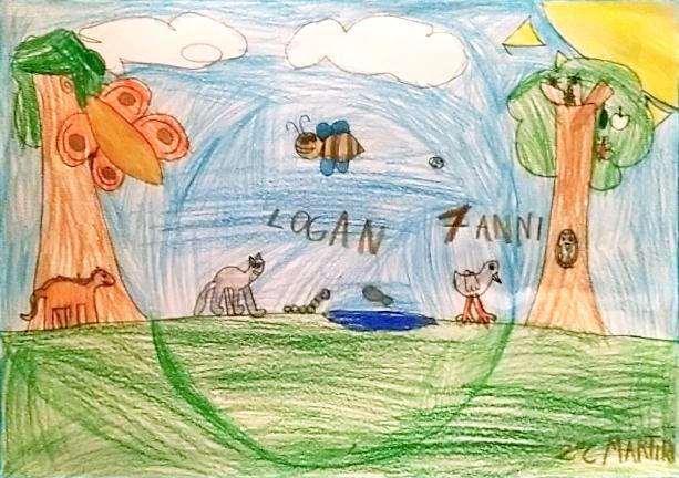 Questo disegno lo ha fatto Logan (7 anni e mezzo)