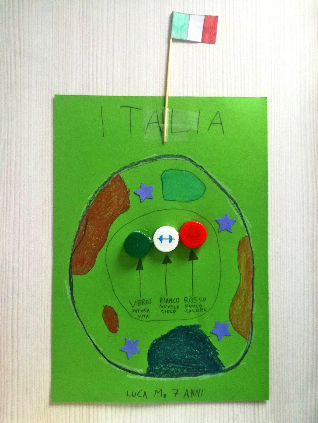 Questo disegno lo ha fatto Luca (7 anni)