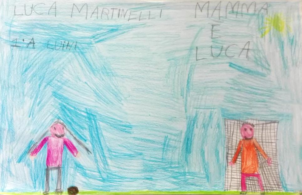Questo disegno lo ha fatto Luca (6 anni)
